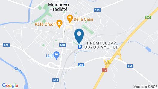 Hotel U Kvapilů Map