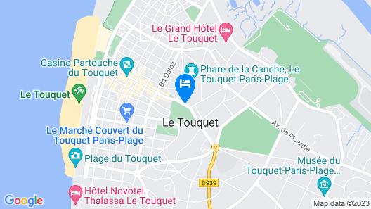 Hôtel Barrière Le Westminster Map