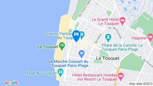 Hôtel les Embruns Map
