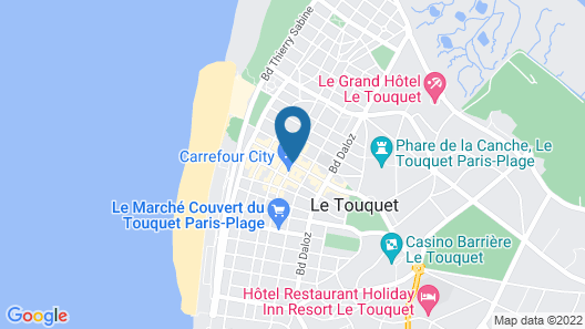 Hôtel Red Fox Map