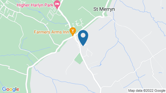 Swanky Holiday Home in Saint Merryn With Garden Map