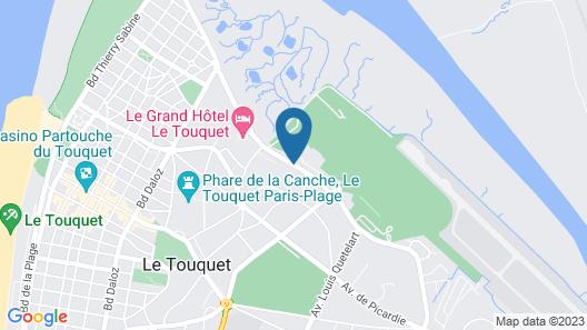 Pierre & Vacances Résidence Les Jardins de la Côte d'Opale Map