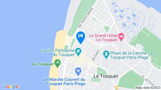 Hotel Castel Victoria Map