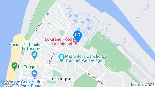 Le Grand Hôtel Le Touquet Map