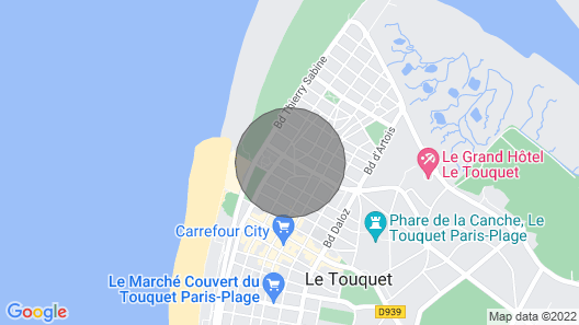 Apartment - 3 Bedrooms - Sea and Dune View - Wifi Map