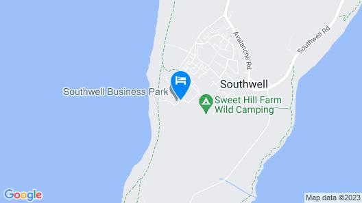 Admiralty Hotel & Restaurant Map