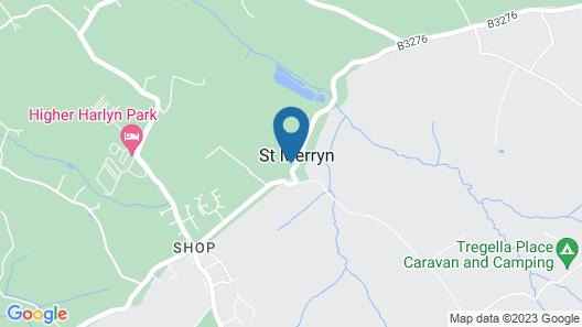 Treveglos Barn - Two Bedroom House, Sleeps 4 Map