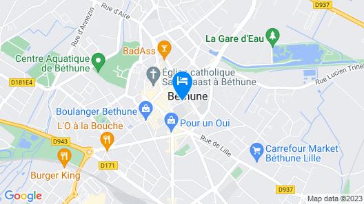 Les Béthunoises Luxury Spa Map