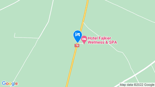 Hotel Fajkier Wellness And Spa Map
