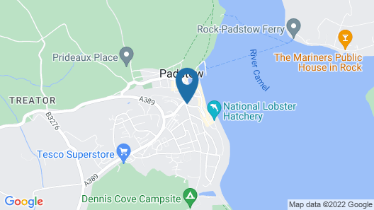 Padstow Harbour Hotel Map