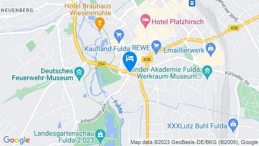 Holiday Inn Express Fulda, an IHG Hotel Map