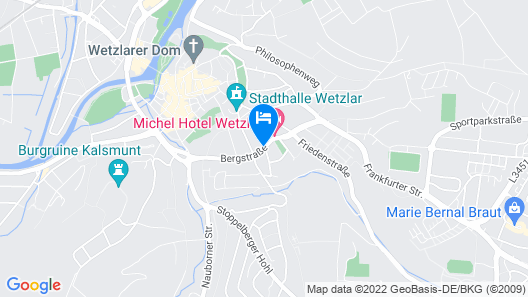 Michel Hotel Wetzlar Map
