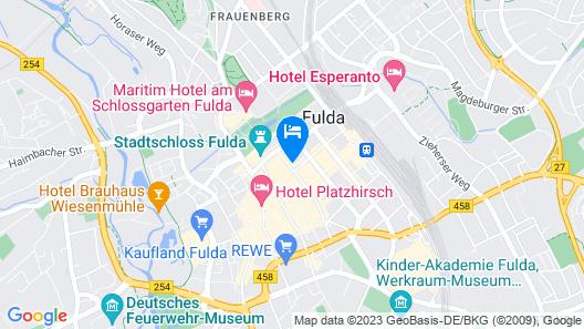 Hotel am Schlosstheater Map