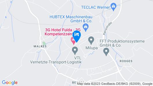 3G Hotel Map