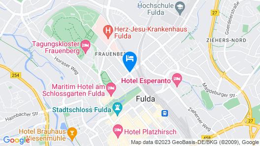 ibis Fulda City Map