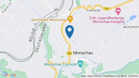 Michel & Friends Hotel Monschau Map