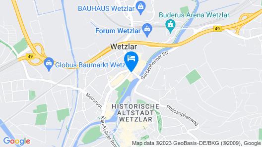 Hotel Euler Haus Map