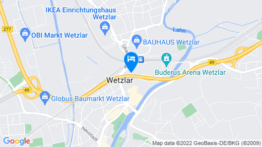 City Hotel Wetzlar Map