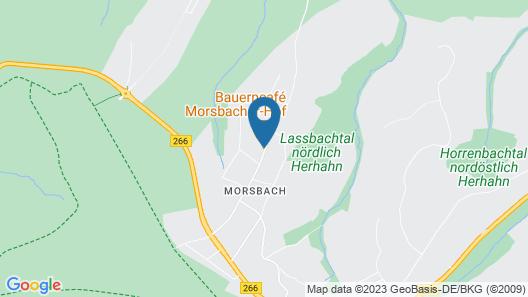 Cozy Apartment Near Monschau, Great Location for Hikes Through Natur Park Eifel Map