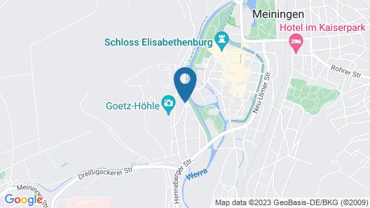 Altstadthotel An Der Werra Map