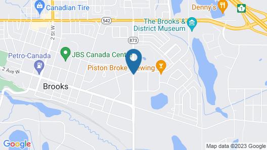 Royal City Motor Inn Map