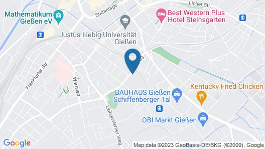 Hotel & Restaurant heyligenstaedt Map
