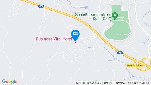 Business Vital Hotel Map