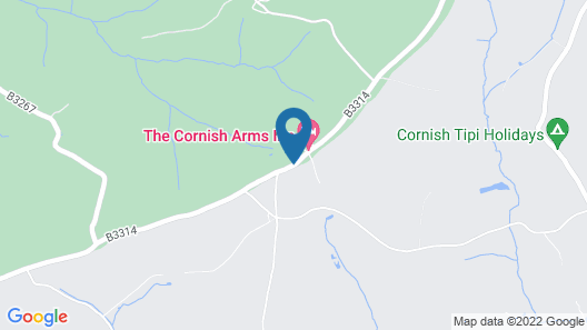 The Cornish Arms Inn Map