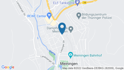 Pension Wasunger Tor Map