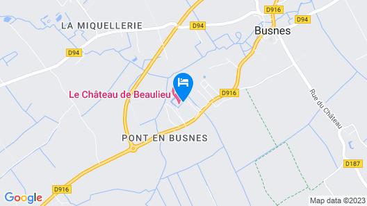 Le Château De Beaulieu Map