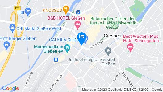 Giessener Bett Map