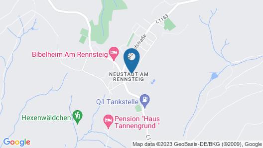 Hotel Kammweg Map