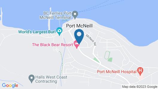 Haida-Way Motor Inn Map