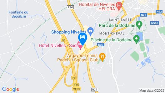 Van der Valk Nivelles-Sud Hotel Map