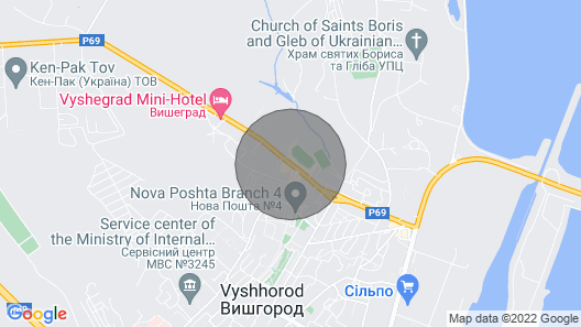 Zirka Vyshhoroda Beautiful Property Near Kyiv Map