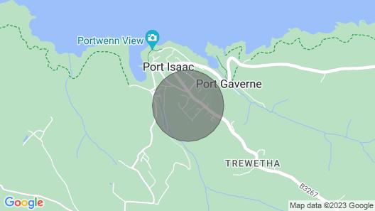 Mor Gwyns Port Isaac Map