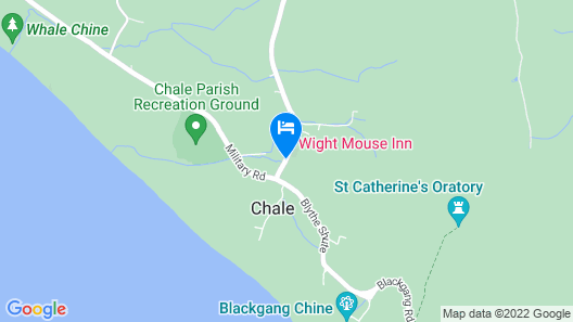 The Wight Mouse Inn Map