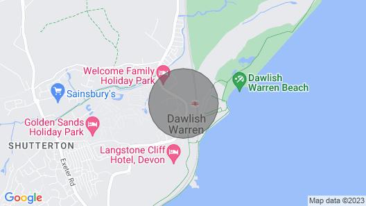 DEVON. DAWLISH WARREN. LUXURY LODGE ON HOLIDAY PARK. EXCELLENT LOCATION & VIEWS. Map