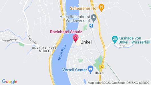 Rheinhotel Schulz Map