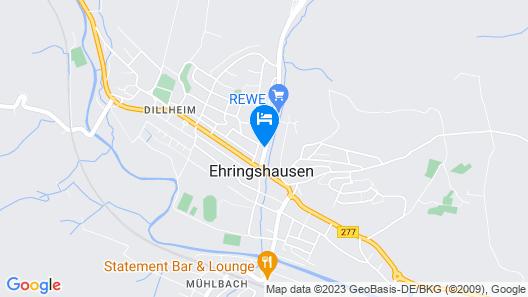 Liebig Hotel Map