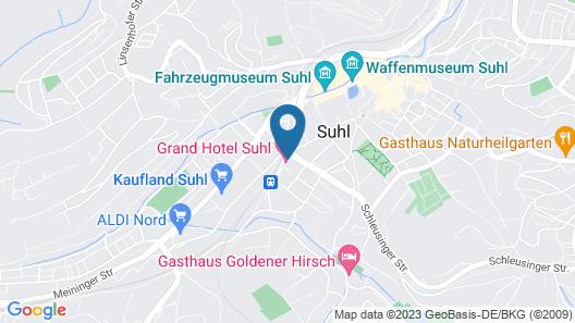 Grand Hotel Suhl Map