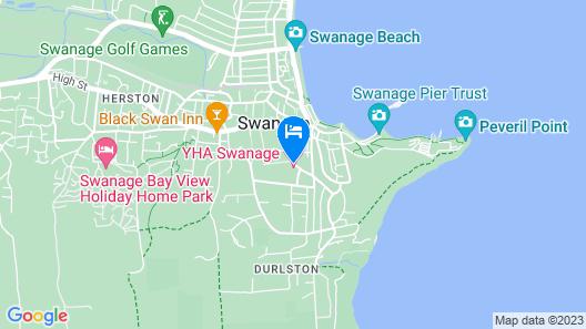 YHA Swanage - Hostel Map