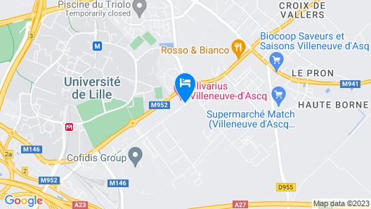 Olivarius Apart'Hotel Map