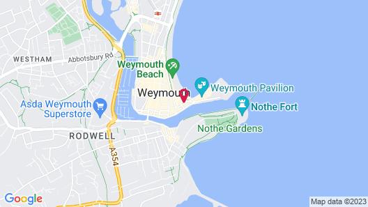 Weymouth Sands Map