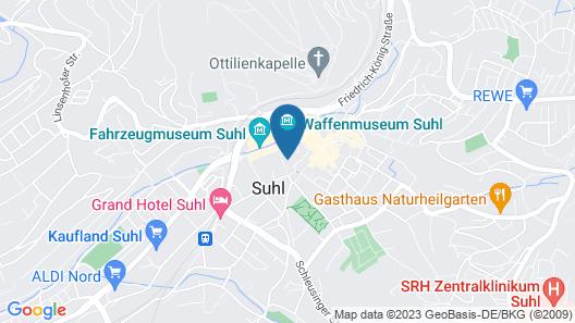 Michel Hotel Suhl Map