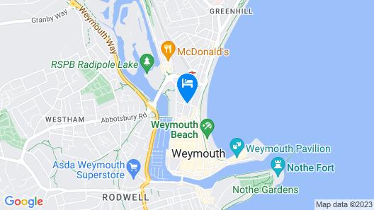 Upwey Map