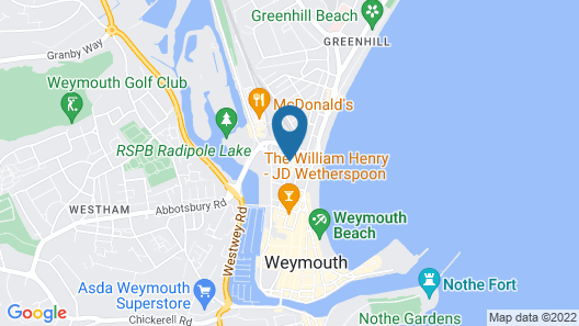 The Dolphin Hotel Map