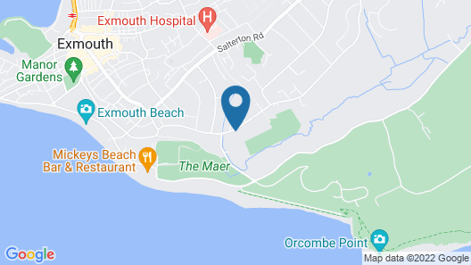 The Devoncourt Resort Map