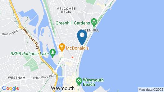 Hotel Mon Ami Map