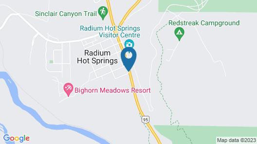 Cedar Motel Map